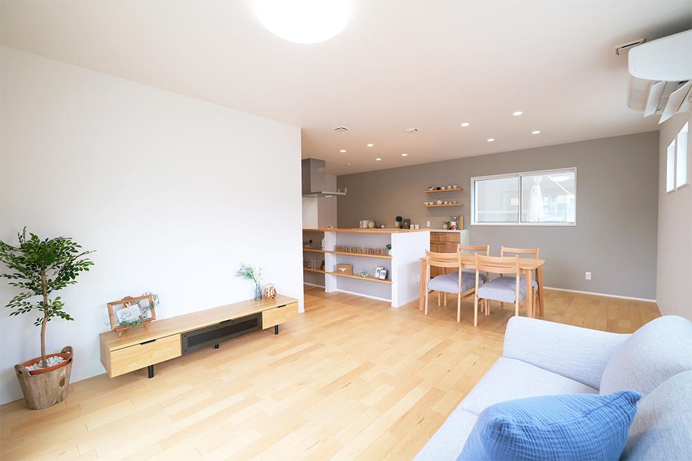 大津市大平『見せる収納ですっきりきれいに暮らす家』完成見学会